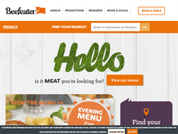 Beefeater Grill shopping