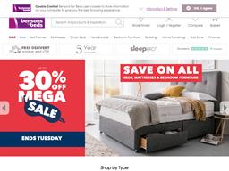 Benson for Beds shopping