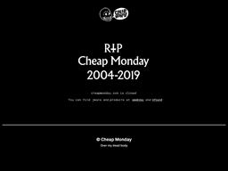 CheapMonday shopping