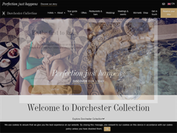 Dorchester Collection shopping