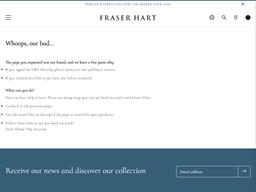 Fraser Hart gift card purchase