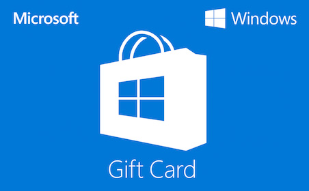 Windows Store gift card purchase