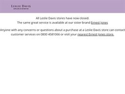 Leslie Davis shopping