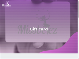 Missbeez gift card purchase