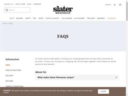 Slaters gift card balance check