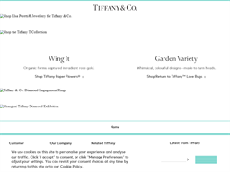 Tiffany & Co shopping