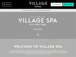 Village Spa shopping
