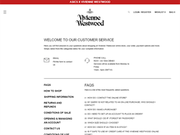 Vivienne Westwood gift card purchase