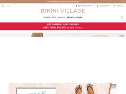 Bikini Village shopping