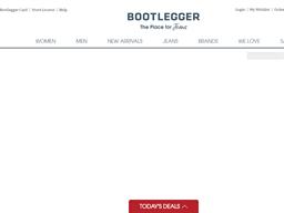 Bootlegger shopping