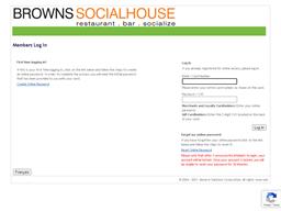 Browns Social House gift card balance check