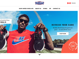 Champs Sports shopping