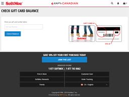 Soft Moc gift card balance check
