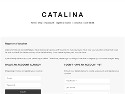 Catalina gift card balance check