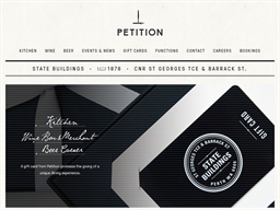 Petition Perth gift card purchase