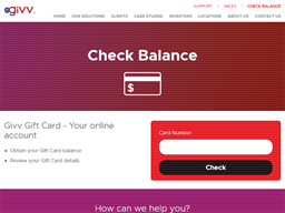 QV Melbourne gift card balance check