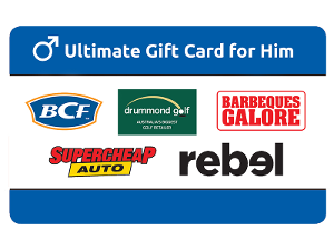 Ultimate For Him gift card purchase
