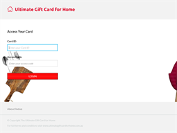 Ultimate Home gift card balance check