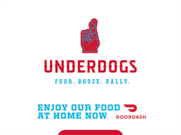 Underdogs gift card purchase