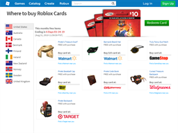 Roblox gift card purchase