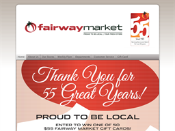 Fairway Markets shopping