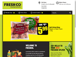 Freshco shopping