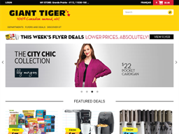 Giant Tiger shopping