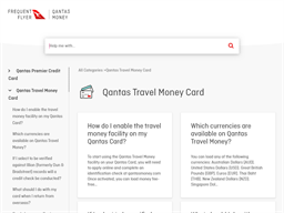 Qantas Cash gift card purchase