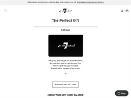 7 For All Mankind gift card purchase