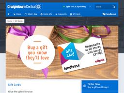 Craigieburn Central gift card purchase