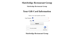 Plaza Catering gift card balance check