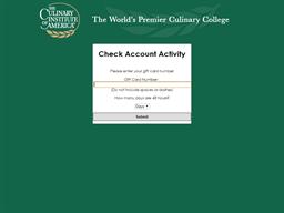 American Bounty Restaurant gift card balance check