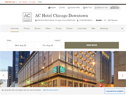 AC Marriott Chicago Downtown shopping