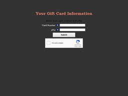 Bountiful Bread gift card balance check
