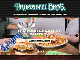 Primanti Brothers shopping