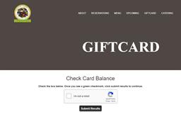 Greenfire Market gift card balance check
