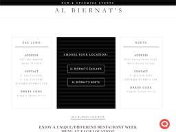 Al Biernat's shopping