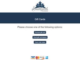 Smithfield Station gift card purchase