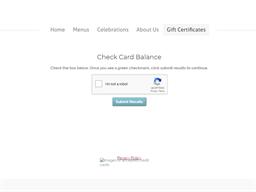Zazie gift card balance check