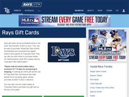 St. Louis Cardinals gift card purchase